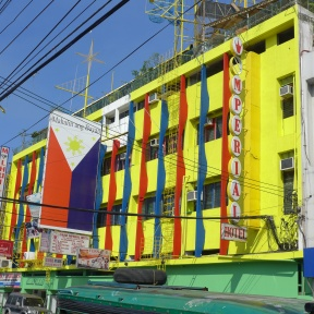 Imperial Hotel frontage along CM Recto St., Davao City. Infront of Aldevinco.