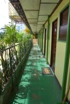 Hallway along Single Rooms