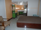 Executive Room with pull up bed and bathroom